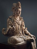 Large wood Avalokiteshvara (Guanyin)