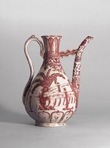 View Copper-red Decorated Porcelain Ewer