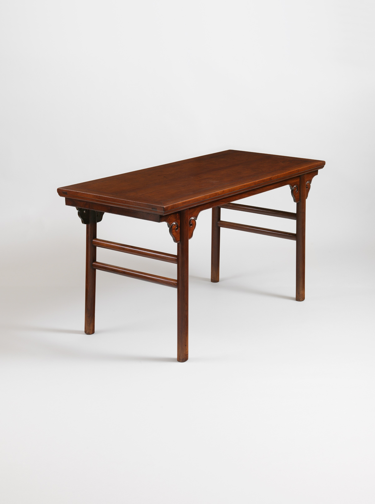 Huanghuali Table with Recessed Legs, pingtou'an
