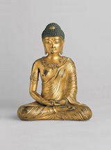 View Gilt-bronze figure of Buddha