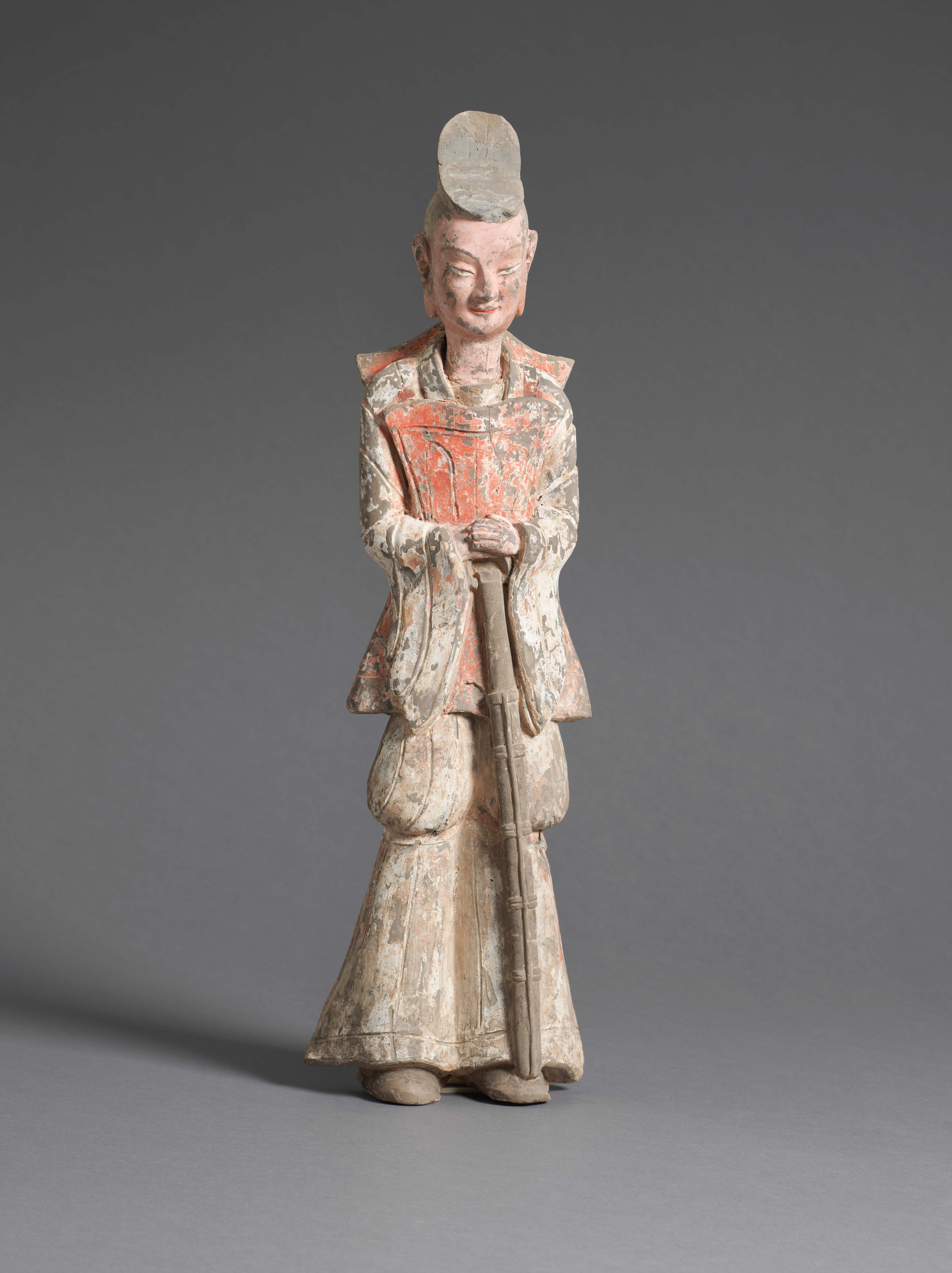 Painted Earthenware Figure