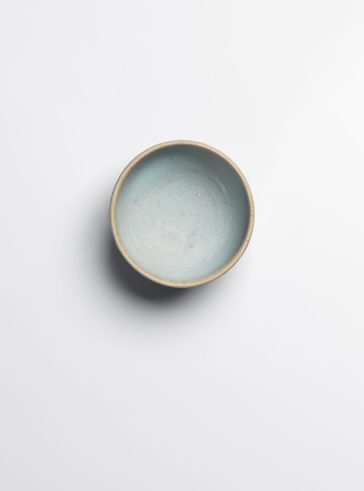 Glazed Stoneware 'Bubble' Bowl